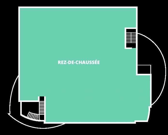 Plan du lieu occupé